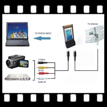 pcmcia tv card smart tv card free shipping tv tuner card