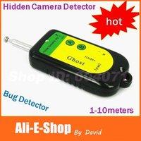 Free Shipping Mini Hidden Camera Detector, Cheap LED Frequency Display Wireless Detector CCTV Hidden Camera, Audio Bug Detector