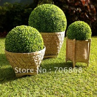55cm diameter Free shipping artificial plastic boxwood ball grass ball   ANTI-UV for indoor & outdoor decoration 7