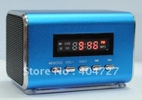 SD/TF card/USB drive Portable Speaker + LED display Free Shipping