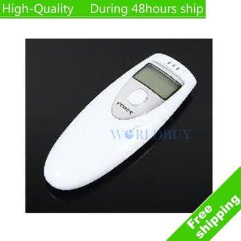 High Quality Mini Breathalyzer Breath Tester Alcohol Tester Digital Analyzer LCD White Free Shipping UPS DHL HKPAM CPAM