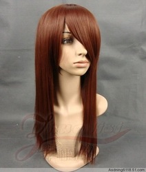 free shipping 100% kanekalon fiber cosplay wigs(China (Mainland))