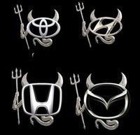 free shipping car 3D emblems alloy auto badge
