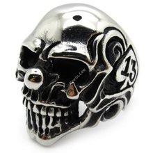 popular skull nose ring