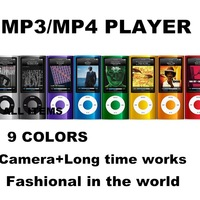 L 5th MP3 player 2.2 LCD Camera Scroll Wheel 1.3MP Camera Fashionable Mp3/ MP4 player 3C-023 with gifts