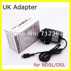 UK Adapter Power Wall Charger for Nintendo DS NDSL UK Free shipping(China (Mainland))