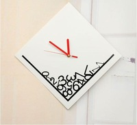 free shipping!Wall Clock,Plastic Clock, Wholesale !THE DROPED NUMBER