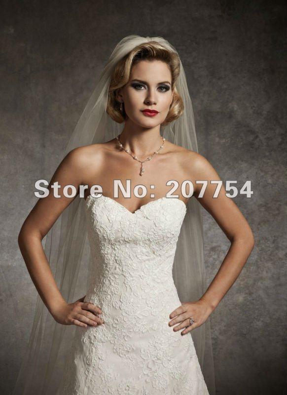Buy strapless satin green wedding dress bridal gowns