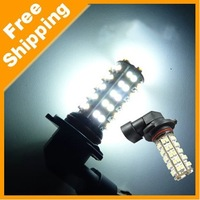 2 X HB3 9005 68SMD LED SMD 1210/3528 Car Fog Light Bulbs Auto Headlight 12V White Free Shipping