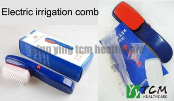 Wholesale and retail anti hair loss apply medicine liquid comb good quality recommend by zhangguang 101 (5opcs/lot)