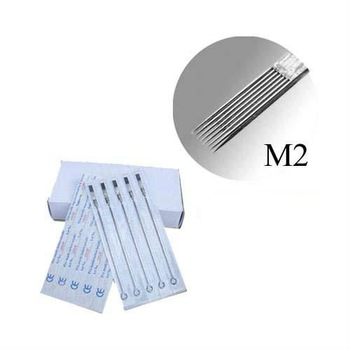 50Pcs Pack 9 Double Stack Magnum (M2) Tattoo Needles