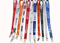 DHL free shipping 1000pcs/lot 20mm*90cm retail/ wholesale  customized lanyards(polyester) with different hook