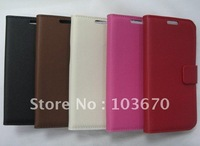 New Arrival Cross Pattern Flip Leather Cover Case for Samsung Galaxy S3 SIII i9300 Stand Case Book Style, Free Shipping 5pcs/lot