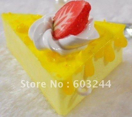 FreeShip 20 Piece Mixed Cartoon Fruit Cake Sweets Cake Squishy Phone Charm Strap Mobile Pendant Chirstmas Gift