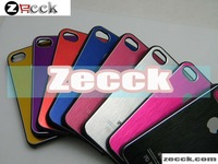 for iphone 4  4S case metal aluminium many colors free shipping 10PCS/LOT