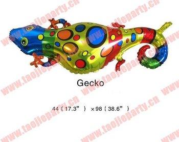 Free shipping Gecko foil Balloon,Helium Balloons
