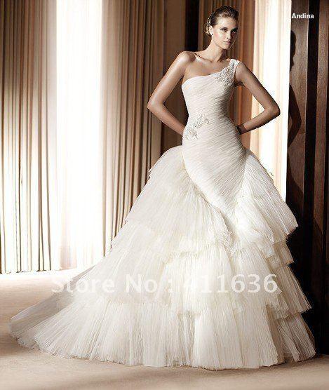 Unique Stylish Wedding Dresses : Custom made unique wedding dresses most fashion gowns