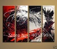Framed!! Frame oil painting ! Huge  Framed/Stretched Modern Oil Canvas Painting JYJLV007