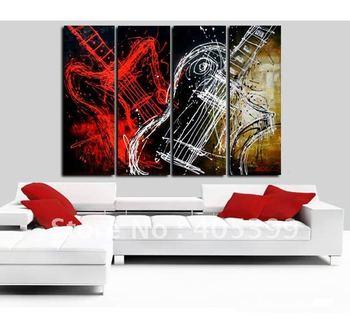 Framed!! Frame oil painting ! Huge  Framed/Stretched Modern Oil Canvas Painting JYJLV038
