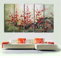 Framed!! Frame oil painting ! Huge  Museum Quality Framed/Stretched Flower Oil  Painting JYJLV197