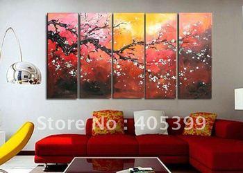 Framed!! Frame oil painting ! Huge  Museum Quality Framed/Stretched Flower Oil  Painting JYJLV202
