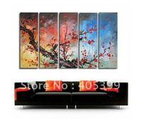 Framed!! Frame oil painting ! Huge  Museum Quality Framed/Stretched Flower Oil  Painting JYJLV205