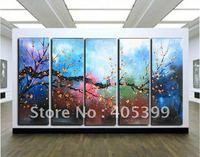 Framed!! Frame oil painting ! Huge  Museum Quality Framed/Stretched Flower Oil  Painting JYJLV210