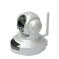 Crazy Sale IP Camera Wireless Wifi 10 IR LED Night Vision Pan Tilt Motion Detect Alarm Security Cam-Free Shipping