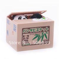 free shipping steal money panda money box
