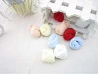Min Order $20 (mixed order) Retail  Mixed Color Baby Summer Thin Polyester Silk Socks (SY-77)