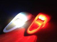 Mini Silicone Bicycle Light Set LED Mountain Bike Bmx Mtb Hybrid