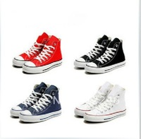 Hot selling 1pair Tall style canvas shoes sneaker Men&#39;s/Women&#39;s canvas shoes