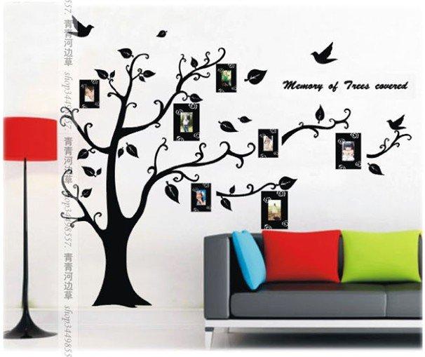 Aliexpress populair plant tatoeages in ogen kunst aan de muur - Decoratie kamertype ...