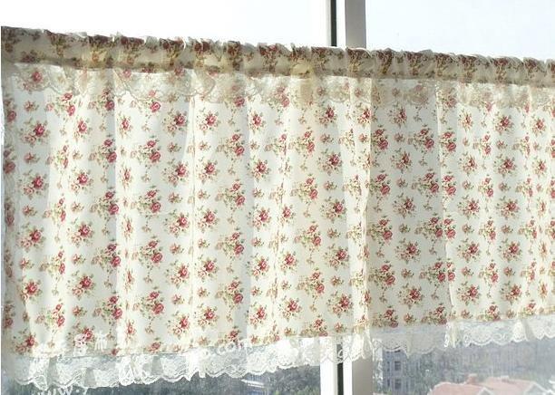 Cortinas De Baño Quality:Alta calidad de Rose cocina / baño cortina 45 * 150 cm en Cortinas de