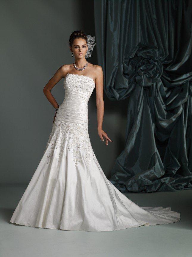 Silk Shantung Wedding Dresses 54