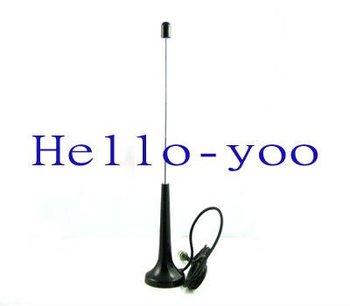 Free shipping! 10pcs/lot Telescopic Digital Freeview 16dbi ~ 17dbi gains DVB-T TV HDTV Antenna Aerial F male connector