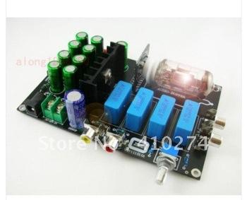 DIY 6N11 Tube Buffer Amp Audio preamp kit ---New design   /free shipping