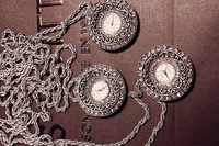 Pocket & Fob Watches, memory top quzrtz watch core pocket watch necklace,crystal surface around