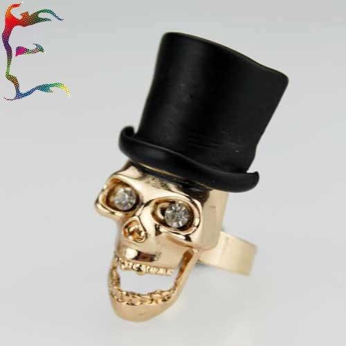 Skull Hats Wholesale mr Skull Black Top Hat