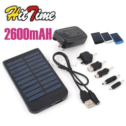 1Pcs Solar Power Charger for PDA Cell Phone SE 2600 mAh 0.7W [2715|99|01](China (Mainland))