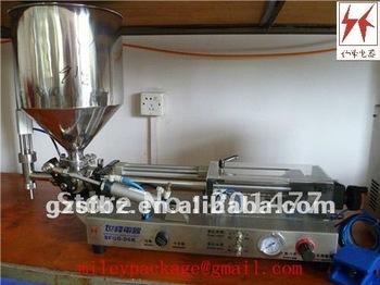 5-60ml semi auto olive paste filling machine supplier(M)