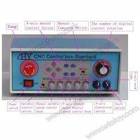 CNC 4 Axis Stepper 5A TB6600 Motor Driver Controller Box-Standard Mach3  12775