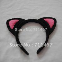Pink cat ear party headband