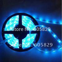 Waterproof  SMD 5050 Blue Led strip light 150leds/5M Good quality Free Shipping