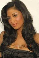 Customized curly hair glueless wigs virgin brazilian hair full lace human hair wigs