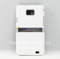 6 colors Chrome Kickstand Hard Case Snap On Cover For Samsung Galaxy S2 i9100