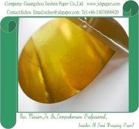 60gsm golden aluminum foil laminated paper,composite paper,Foil Paper