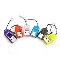 Micro sd card reader free shipping 100 pcs a lot post free shipping instead of tnt