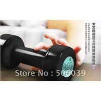 free shipping creative alarm clocks weight lifting alarm clock