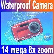 popular waterproof shockproof digital camera